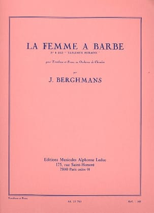 José Berghmans - The Beard Woman - The Foragers N ° 4 - Partitura - di-arezzo.it