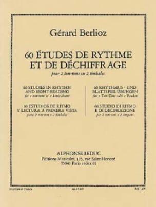 Gérard Berlioz - 60 estudios de ritmo - Partitura - di-arezzo.es