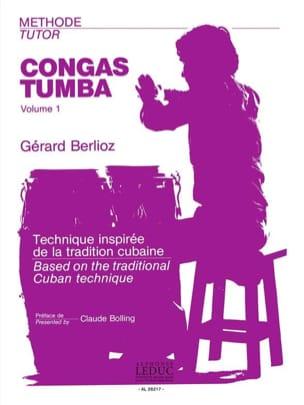 Gérard Berlioz - Congas-Tumbas Method Volume 1 - Sheet Music - di-arezzo.com