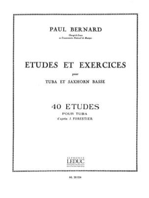 Bernard - Studies and Exercises - 40 Etudes - Sheet Music - di-arezzo.co.uk
