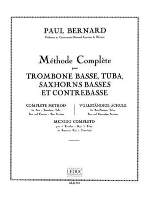 Méthode Complète - P. Bernard - Partition - laflutedepan.com