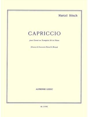 Marcel Bitsch - caprice - Sheet Music - di-arezzo.co.uk