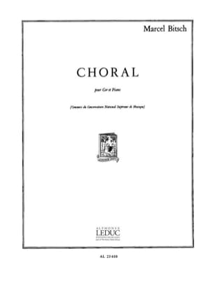 Marcel Bitsch - Choral - Partition - di-arezzo.fr
