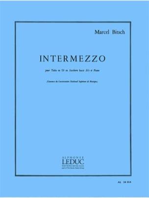 Intermezzo Marcel Bitsch Partition Tuba - laflutedepan