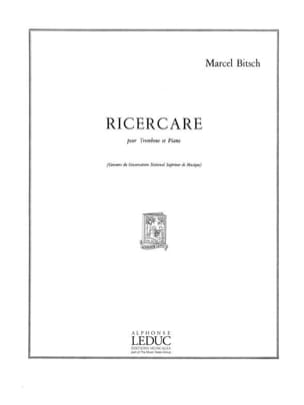 Marcel Bitsch - Ricercare - Sheet Music - di-arezzo.co.uk