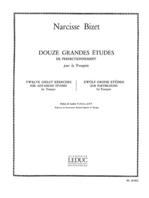 Narcisse Bizet - 12 Major Studies - Sheet Music - di-arezzo.com