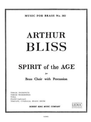Spirit Of Age - Bliss - Partition - laflutedepan.com