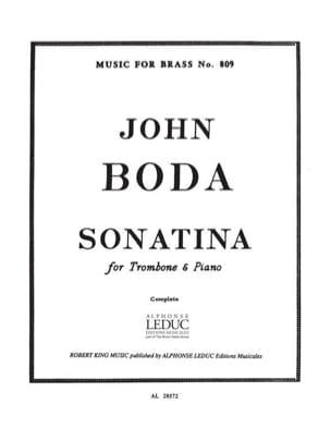 John Boda - Sonatina - Partitura - di-arezzo.es