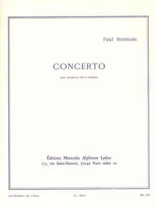 Paul Bonneau - Concerto - Sheet Music - di-arezzo.com