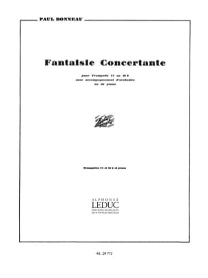 Fantaisie Concertante - Paul Bonneau - Partition - laflutedepan.com