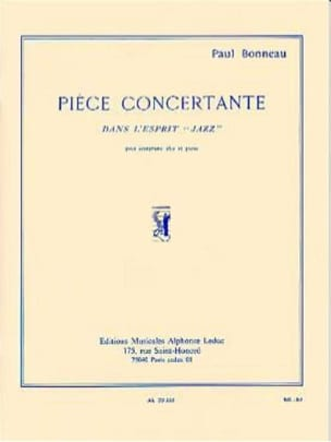 Paul Bonneau - Pièce Concertante - Partition - di-arezzo.fr