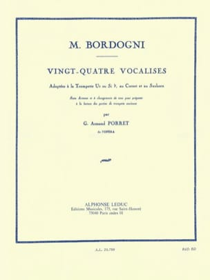 M. Bordogni - 24 Vocalises - Partitura - di-arezzo.es