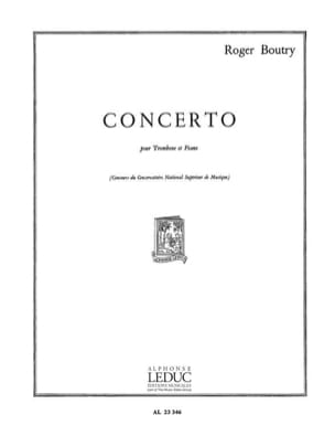 Roger Boutry - Concerto - Sheet Music - di-arezzo.co.uk