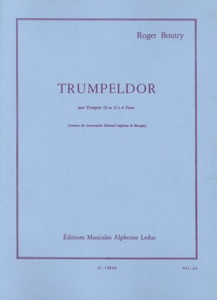 Roger Boutry - Trumpeldor - Partition - di-arezzo.fr