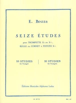 Eugène Bozza - 16 Etudes - Partition - di-arezzo.fr