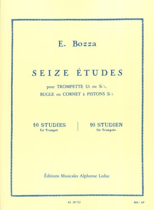 Eugène Bozza - 16 Studies - Sheet Music - di-arezzo.com