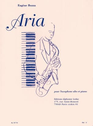 Eugène Bozza - Aria - Sheet Music - di-arezzo.co.uk
