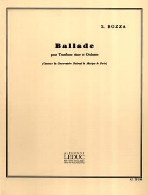 Eugène Bozza - Ballade - Noten - di-arezzo.de