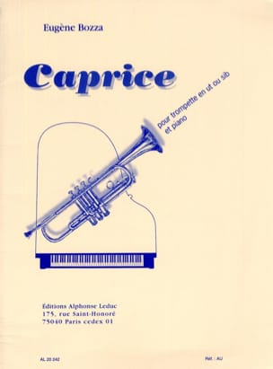 Eugène Bozza - Caprice - Sheet Music - di-arezzo.co.uk