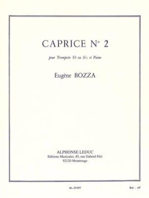 Eugène Bozza - Caprice N° 2 - Partition - di-arezzo.fr