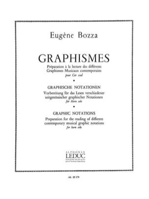 Eugène Bozza - Graphismes - Partition - di-arezzo.fr