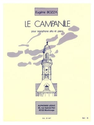 Eugène Bozza - The Campanile - Sheet Music - di-arezzo.com