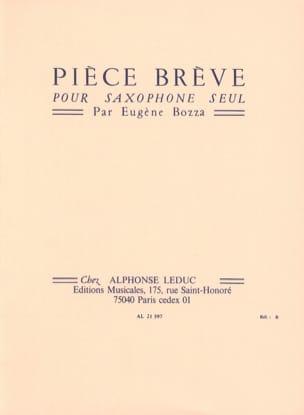 Eugène Bozza - Pièce Brève - Partition - di-arezzo.fr