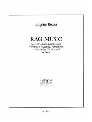 Rag Music Eugène Bozza Partition Multi Percussions - laflutedepan