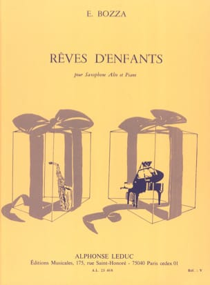 Eugène Bozza - Children's Dreams - Sheet Music - di-arezzo.com