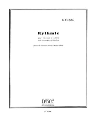 Eugène Bozza - Rythmic Opus 70 - Sheet Music - di-arezzo.co.uk