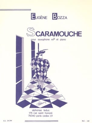Eugène Bozza - Scaramouche - Partitura - di-arezzo.es