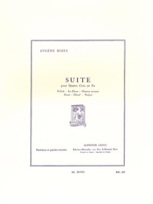 Eugène Bozza - After - Sheet Music - di-arezzo.co.uk