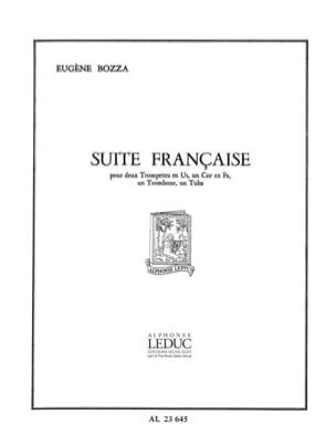 Suite Francaise - Eugène Bozza - Partition - laflutedepan.com