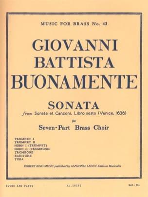Sonata from sonate et canzoni, libro sesto (Venise 1636) - laflutedepan.com
