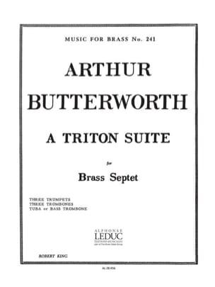 A triton suite - Arthur Butterworth - Partition - laflutedepan.com