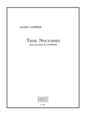 3 Nocturnes - Jacques Castérède - Partition - laflutedepan.com