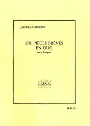 Jacques Castérède - 6 Pièces Brèves En Duo - Partition - di-arezzo.fr