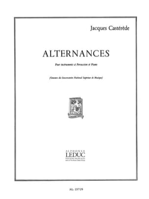 Jacques Castérède - vibrations - Sheet Music - di-arezzo.co.uk