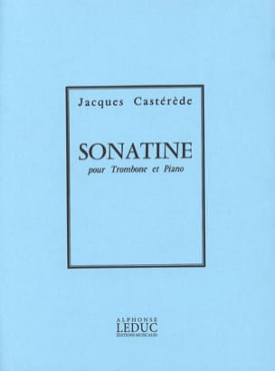 Jacques Castérède - Sonatine - Sheet Music - di-arezzo.co.uk
