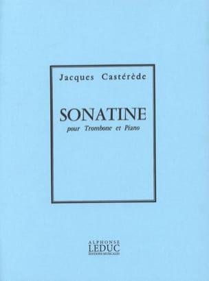 Sonatine Jacques Castérède Partition Trombone - laflutedepan