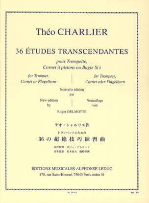 Théo Charlier - 36 Transcendental Studies - Sheet Music - di-arezzo.co.uk