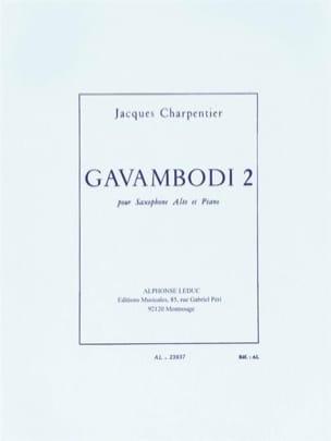 J. Charpentier - Gavambodi 2 - Partition - di-arezzo.fr