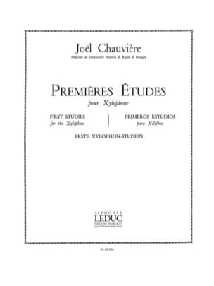 Joël Chauvière - First Studies - Sheet Music - di-arezzo.com
