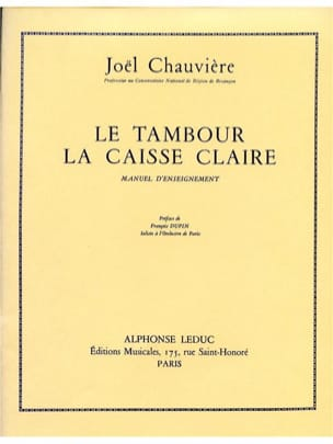 Chauvière - Drum - Sheet Music - di-arezzo.com