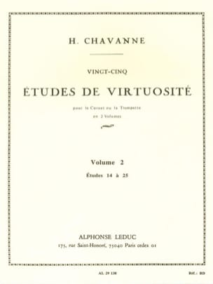 25 Etudes de Virtuosité Volume 2 - Etudes 14 à 25 - laflutedepan.com
