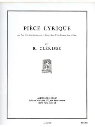 Robert Clérisse - Pieza lírica - Partitura - di-arezzo.es