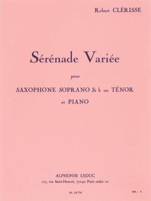 Sérénade Variée - Robert Clérisse - Partition - laflutedepan.com