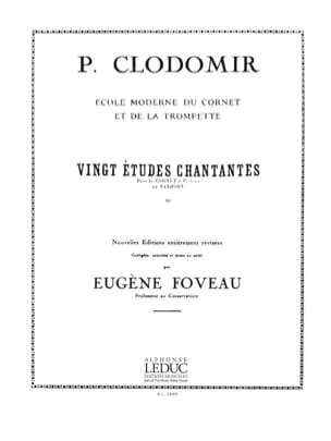 Pierre-François Clodomir - 20 Singing Studies - Sheet Music - di-arezzo.co.uk