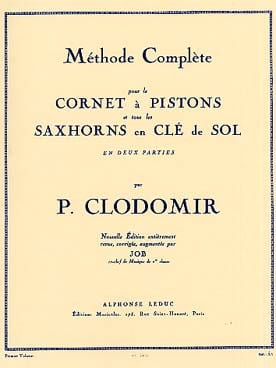 Pierre-François Clodomir - Complete Method Volume 1 - Sheet Music - di-arezzo.co.uk