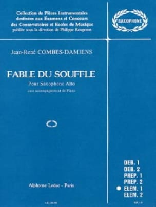 Combes-damiens - Fable Of The Breath - Sheet Music - di-arezzo.co.uk